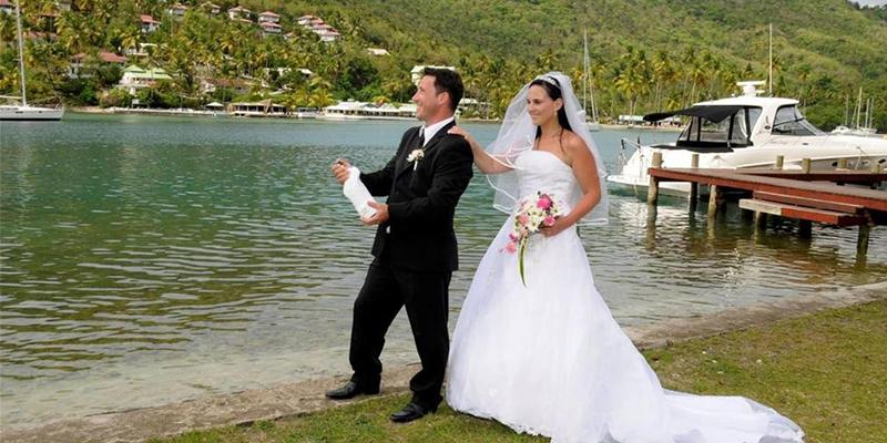 all inclusive weddings in st lucia at marigot beach club