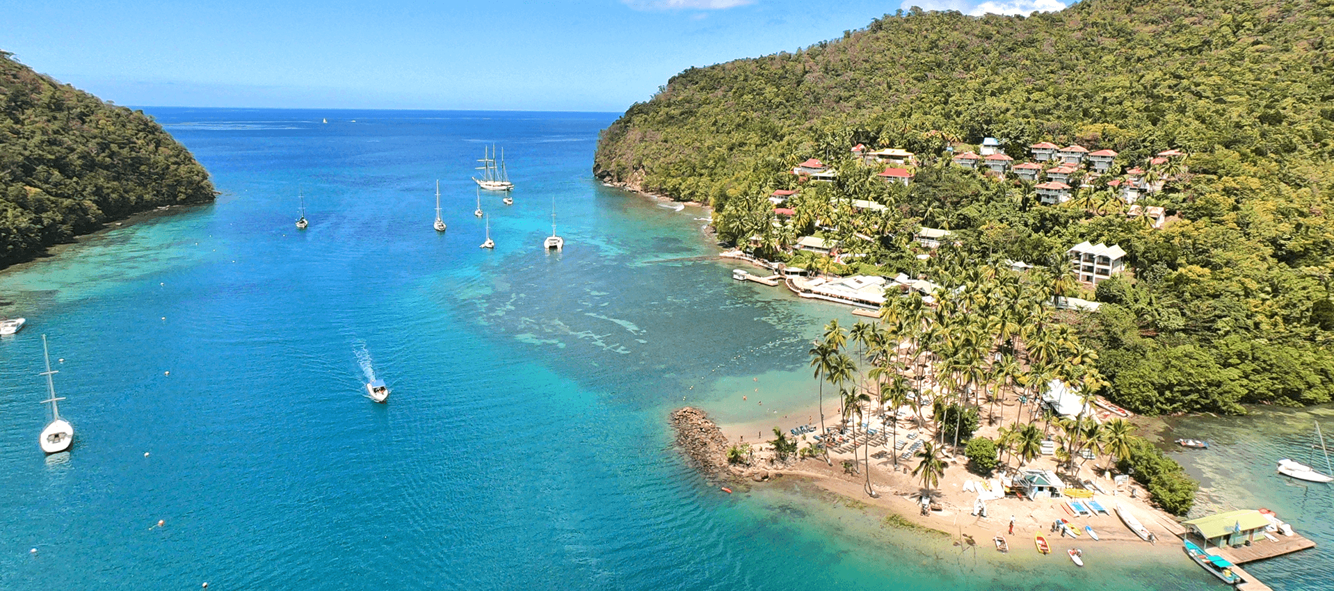 Marigot Bay Beach